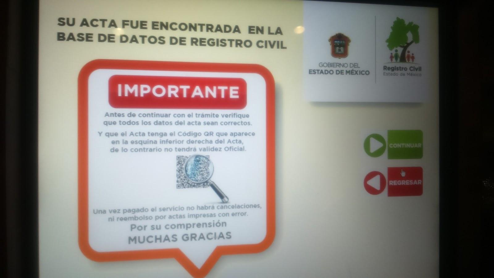 Tramita Tu Certificado De Nacimiento En Cajeros Automaticos